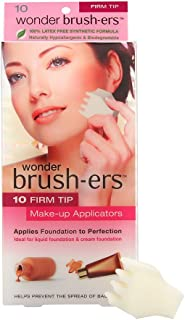 Wonder Brush ers Make up Applicators 10 Firm Tip White