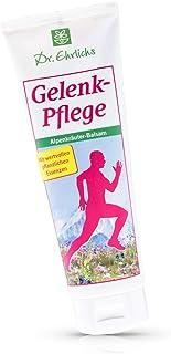 Dr. Ehrlichs Gelenk-Pflege Alpenkräuter-Balsam 250ml - milde Creme für Knie, Schulter und Gelenke - sanft zur Haut - entlastet, pflegt und entspannt - mit leichter Wärme fördert es die Durchblutung