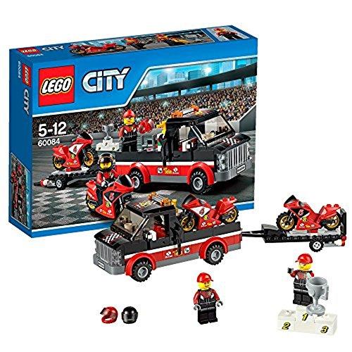 Lego City 60084 - Rennmotorrad Transporter