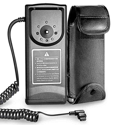 Neewer External Flash Battery Pack CP-E4 Replacement for Canon 600EX,580EX,580EX II,550EX,540EZ,MR-14EX & MT-24EX, Neewer TT520,TT560,NW680, NW565,NW985 Speedlite