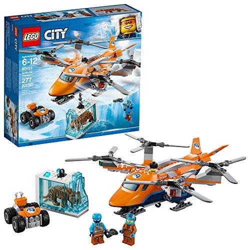 LEGO City Arctic Air Transport 60193 Bausatz (277-teilig), Mehrfarbig