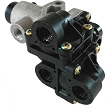 All-in-One Tractor Protection Two-Line Manifold Style Air Brake Valve for Heavy Duty Big Rigs