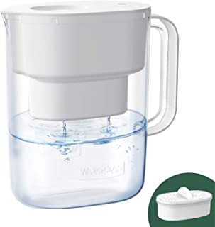 Waterdrop 10-Cup Water Filter Pitcher, Long-Lasting (200 gallons), NSF Certified, 5X Times Lifetime Filtration Jug, Reduce...