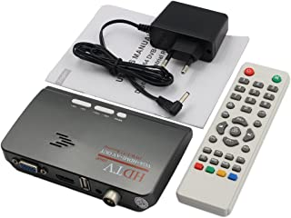Dab Gamogo Mini Portable Digital USB 2.0 TV Stick DVB-T RTL2832U R820T2 Soutien SDR Tuner R/écepteur FM