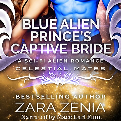 Blue Alien Prince's Captive Bride: A Sci-Fi Alien Romance cover art