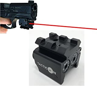 TACTICON Laser Sight | Rifle Handgun | Weaver or Picatinny Rail | Red Dot Lazer Sight..