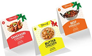 BUTTER CHICKEN CURRY, TANDOORI CHICKEN, BEEF VINDALOO INDIAN FOOD SPICES by Flavor Temptations. Cook Variety of Masalas wi...