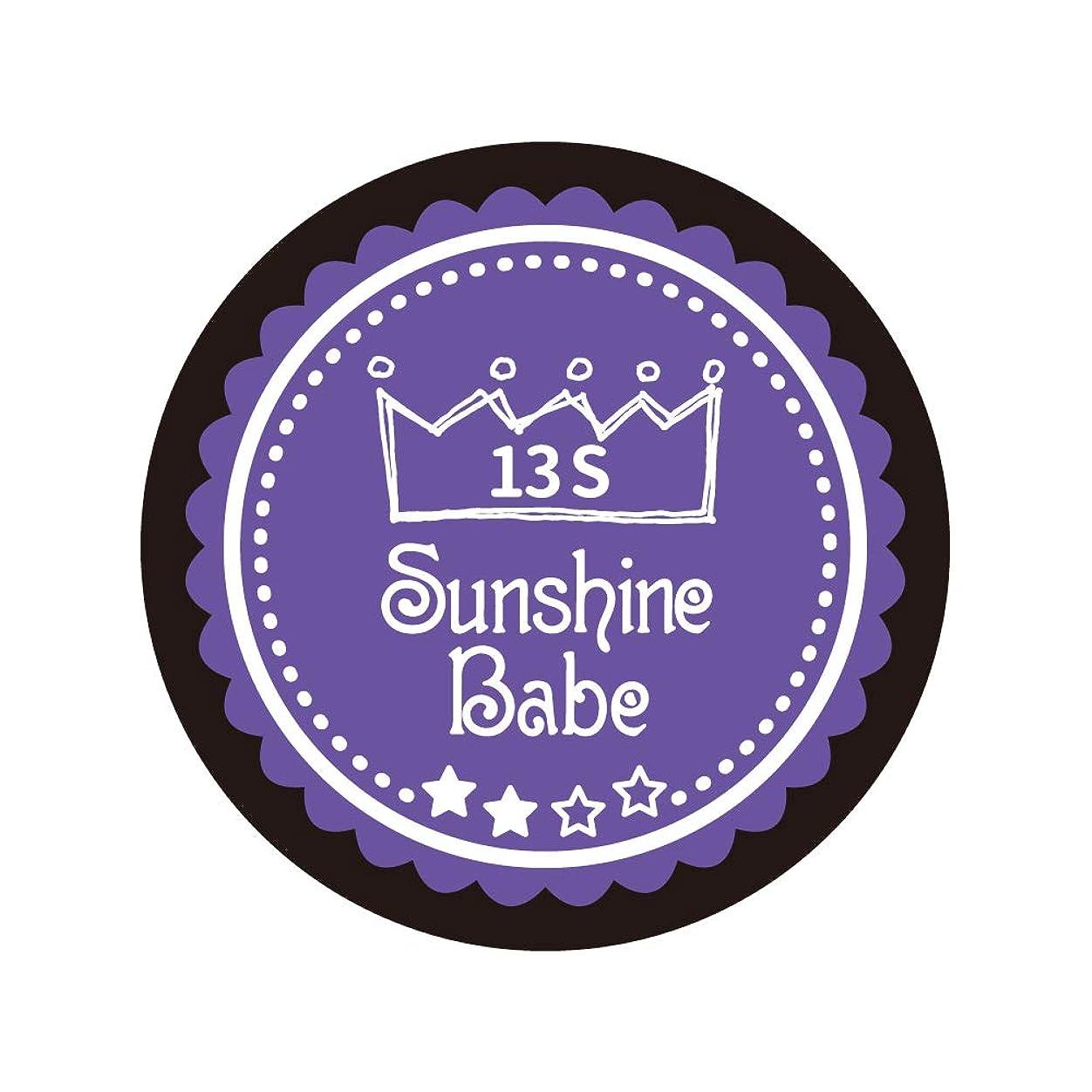 鮫監督する若いSunshine Babe コスメティックカラー 13S ウルトラバイオレット 4g UV/LED対応