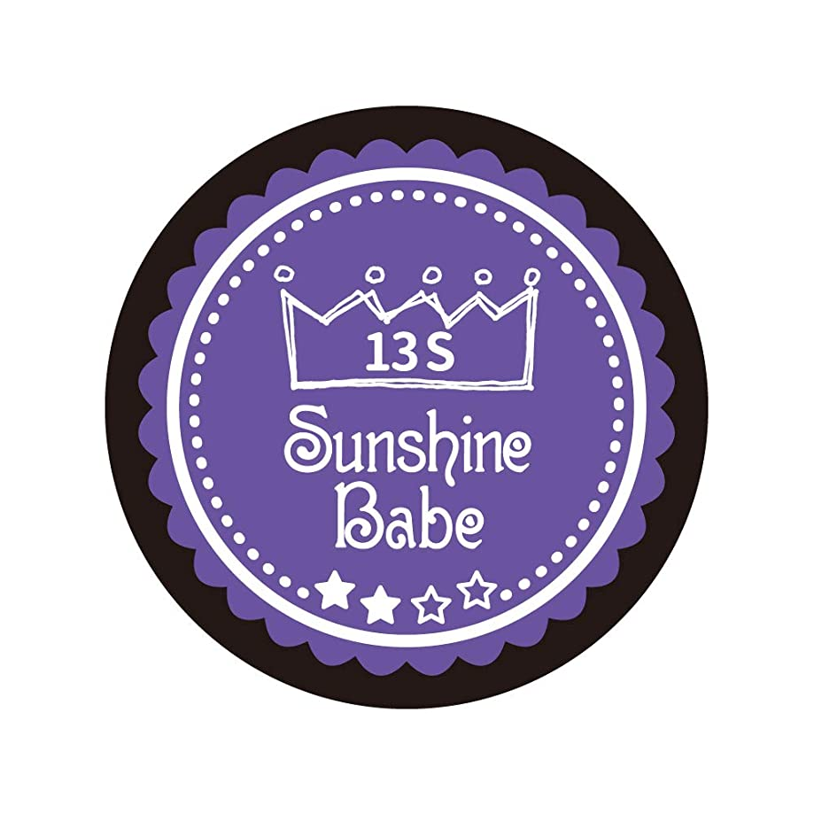 嵐時期尚早悪因子Sunshine Babe カラージェル 13S ウルトラバイオレット 2.7g UV/LED対応