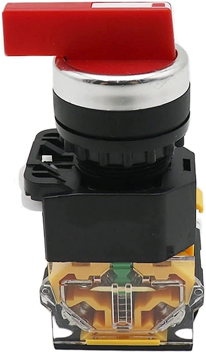 BJJXTD 22mm Dallas Mall Selector Knob Rotary 1 Momentary Switch Latching Max 59% OFF 2NO