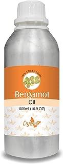 Crysalis Bergamot (Citrus Aurantium) Pure Natural Aromatherapy Therapeutic Uncut Undiluted Essential Oil 500ml