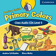 American English Primary Colors 5 Class Audio CDs