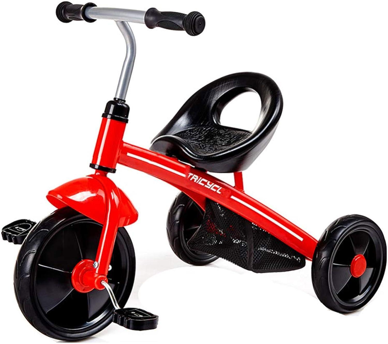 TH - Kinderdreirad Tricycle Für Kinder, Mit Eva-Rad, Anti-Rutsch-Sitz, Wiegt Nur 3,7 Kg, 2-4 Jahre