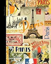 Writing Journal: Lined Paper Notebook for Creative Writers or Personal Use (A large SOFTBACK from our Vintage Paris range) (Notebooks and Journals)