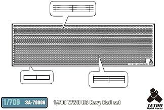 Tetramodelworks 1 / 700 SA series No. Second World War U.S. Navy handrail for accessory parts set SA7008