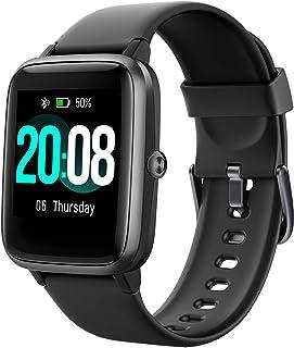 comprar comparacion LIFEBEE Smartwatch, Reloj Inteligente Impermeable IP68 para Hombre Mujer niños, Pulsera de Actividad Inteligente con Monit...