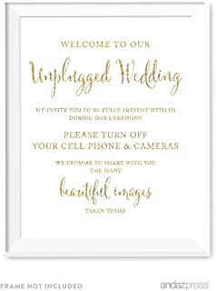 Best no cell phone wedding sign Reviews