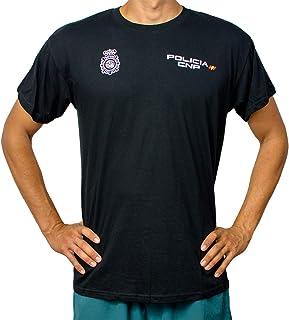 Camiseta Policía Nacional 100% Algodon Adulto