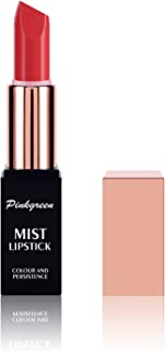 PINKGREEN Color Matte Lipstick, Waterproof Long Lasting Formula, Lip Makeup, Cruelty Free, Creamy Finish, Smart Shades, Safest Ingredients, Natural Smooth Lipsticks, Highly Pigmented(#4)