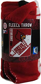The Northwest Company Officially Licensed NCAA Painted Fleece Throw Blanket - Louisville Cardinals