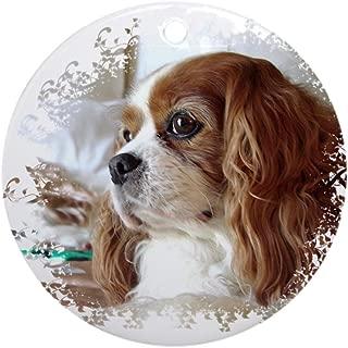 CafePress Cavalier King Charles Spaniel Ornament (Round) Round Holiday Christmas Ornament