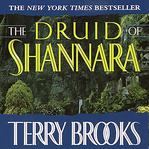 The Druid of Shannara audiobook cover art