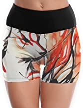 Okami Power Flex Yoga Short Tummy Control Workout Running Athletic Non See-Through Yoga Shorts