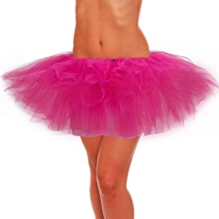belababy Adult Skirt, Women Tutu, Tulle Tutus for Teens Polyester Classic 5 Layers