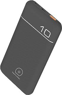 WUW PD 18W USB-C & Qualcomm 3.0 USB Power Bank 10,000 mAh Fast Charging Backup Battery with 2 Charging Ports USB-C & Micro...