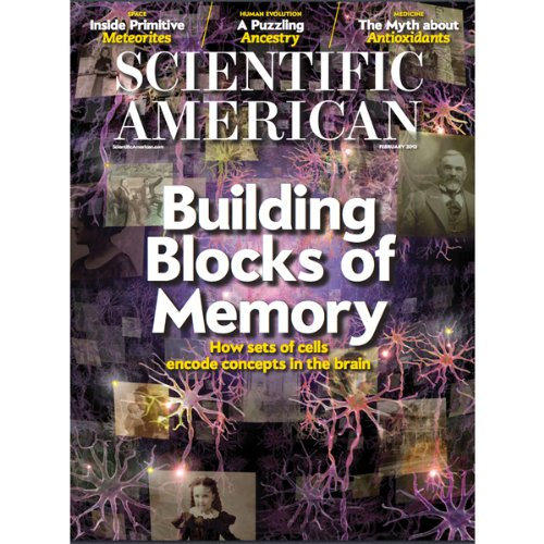 Scientific American, February 2013 audiobook cover art