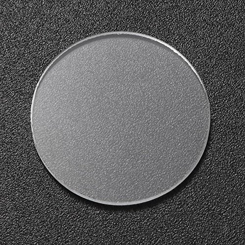 Global 20,5 mm x 1,6 mm Glaslinse Taschenlampe Zubehör für Convoy S2/S2 + / S3/S6/S8 Taschenlampe
