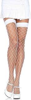 Leg Avenue Women's Fence Net Thigh-high
