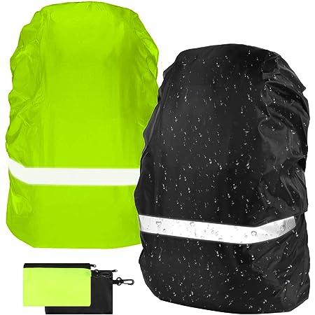 15-90 L Couvre-sac à dos étanche avec réfléchissant pour Crenze Sac à dos Housse de pluie