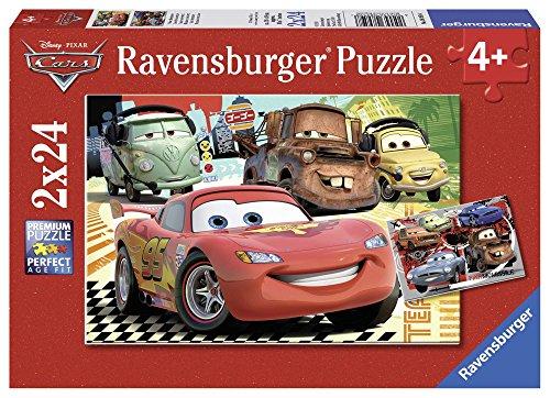 Ravensburger Kinderpuzzle 08959 - Neue Abenteuer - 2 x 24 Teile
