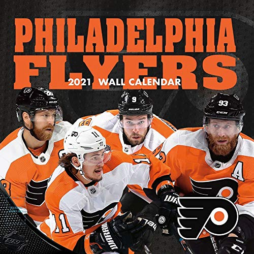 TURNER Sports Philadelphia Flyers 2021 12X12 Team Wall Calendar (21998011951)