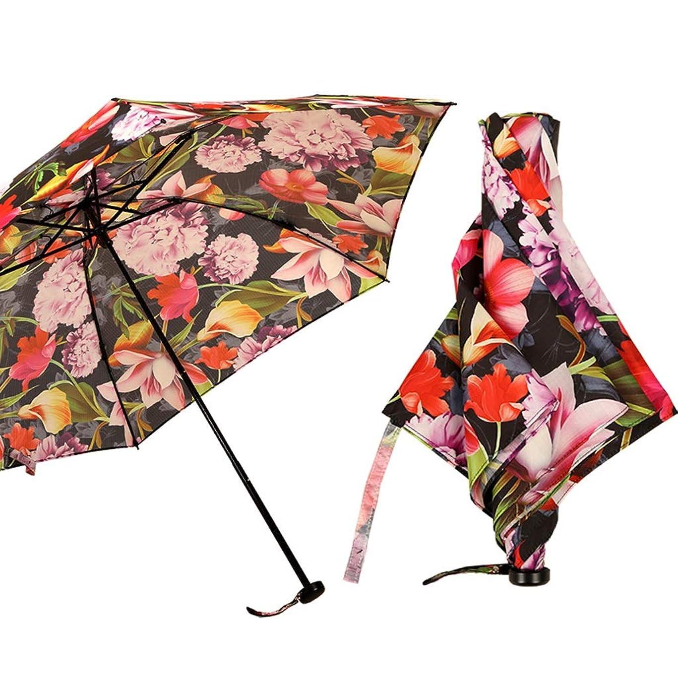 時系列ビリー電話する折りたたみ傘抗UV傘ポータブル傘太陽の傘耐候性のある傘旅行傘 ZHYGDQ (Color : A)