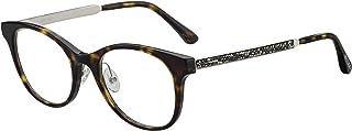 نظارات جيمي تشو JC 209 /F 0086 هافانا غامق/ 00 عدسات تجريبية، 49/19/145