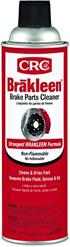 CRC BRAKLEEN Brake Parts Cleaner - Non-Flammable -19 Wt Oz (05089)