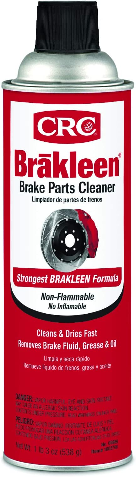 CRC BRAKLEEN Brake Parts Cleaner - Non-Flammable -1lb 3 Oz (05089)