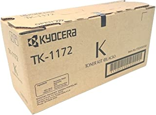 Kyocera 1T02S50US0 Model TK-1172 Black Toner Kit For use with Kyocera ECOSYS M2040dn, M2540dw and M2640idw Multi-functional Printers; Up To 7200 Page Yield @ 5% Coverage