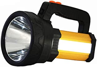 XYIDAI Searchlight, Emergency Light Outdoor Handheld Portable Spotlight Lantern Rechargeable Lumes Flashlight