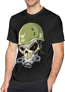 Five Finger Death Punch Men's Shirt Classic Short Sleeve Black