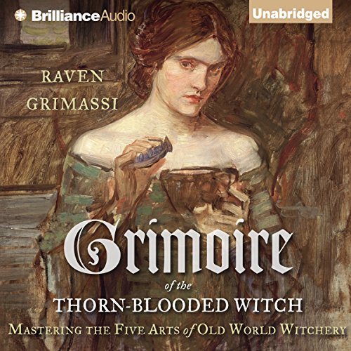 Grimoire of the Thorn-Blooded Witch audiobook cover art
