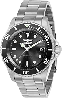 Invicta Men's Connection Automatic-self-Wind Watch with Stainless-Steel Strap, Silver, 20 (Model: 24760)