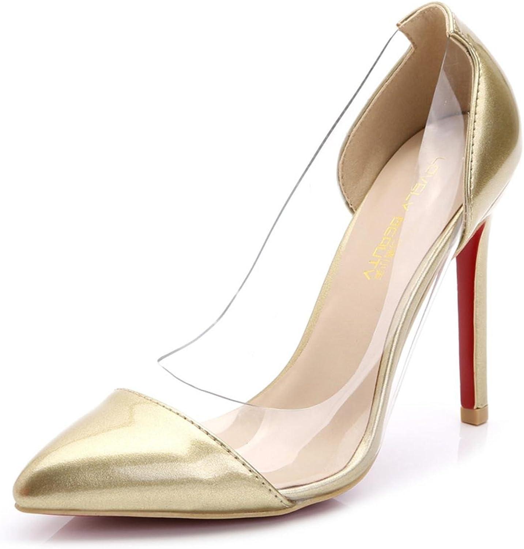 Damen sexy Flache Stiletto High Heels Spitz Zehe Single Schuhe Lackleder PU Patchwork Süigkeiten Farben Schwarz Rot Wei Partei Abend Prom Frühling Sommer Herbst