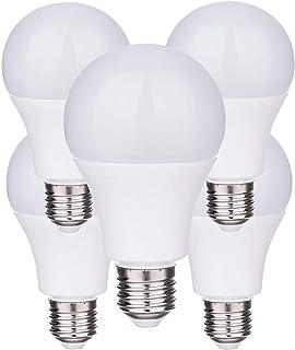 ZEYUN Bombilla a la luz del amanecer, Sensor inteligente Bombilla LED 7W E27 Detección del fotosensor incorporada con inte...