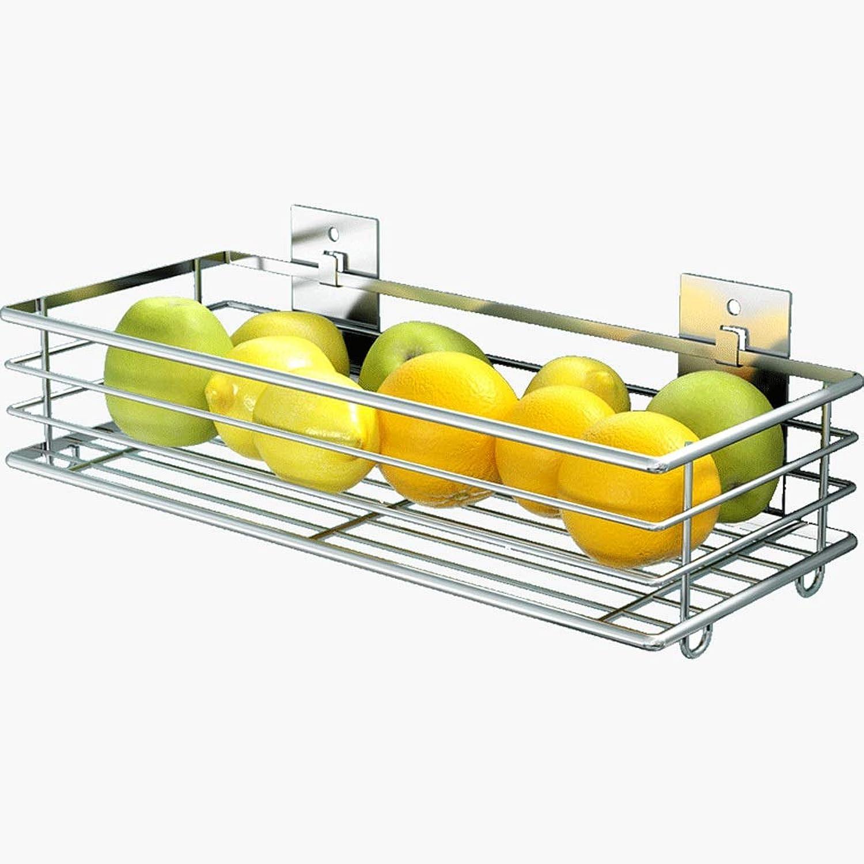 ahorrar en el despacho BingWS Escurreplaños 304 Acero Inoxidable Sin Punch Punch Punch Cocina Cocina Cesta de Frutas Rack de Verduras Colgante de Frutas Cesta de Almacenamiento de Rack Cesta de Drenaje Soportes para Plaños  nueva marca