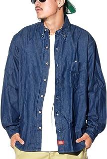 (ディッキーズ) DICKIES デニムシャツ 大きいサイズ ボタンダウンシャツ WL300 [並行輸入品]