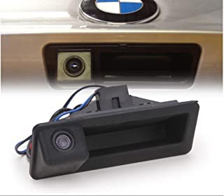 Car Trunk Handle Camera Rear View HD Camera for BMW 3 Series 5 Series BMW X5 X1 E82 E88 E84 E90 E91 E92 E93 E60 E61 E70 E71 E72 (2003-2009)