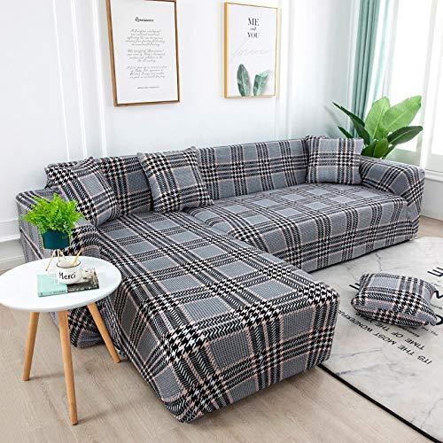 Fundas de sofá Fundas de sofá para Sala de Estar Funda de sofá elástica Funda de sofá seccional elástica A20 4 plazas